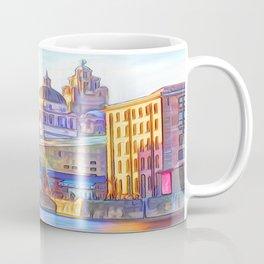 World famous Three Graces (Digital painting) Coffee Mug