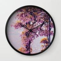 milan Wall Clocks featuring Milan by juliette-mainx