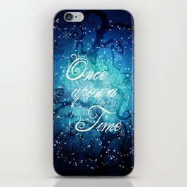 Once Upon A Time ~ Winter Snow Fairytale Forest iPhone Skin