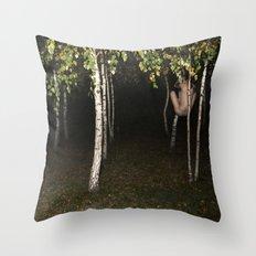 Birches I Throw Pillow