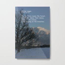 Winter magic Metal Print