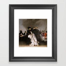 El Jaleo (Spanish Dancer) - John Singer Sargent Framed Art Print