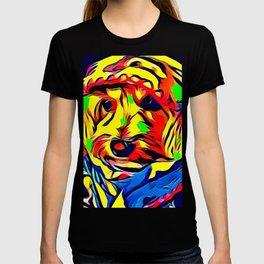 Havapoo Color Splash Art T-shirt