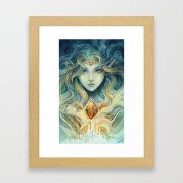 Snowqueen Framed Art Print