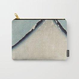 Hokusai, the blue fuji- hokusai,manga,japan,fuji, blue fuji,Shinto Carry-All Pouch