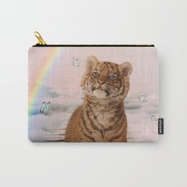 A tiger on the Rainbow Bridge Carry-All Pouch