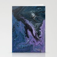 celestial Stationery Cards featuring Celestial by BevyArt