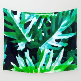 Leaves exotic Wall Tapestry