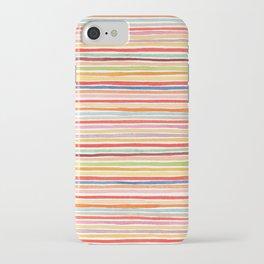 Robayre Watercolor Lines iPhone Case