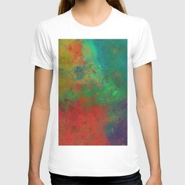 Lose Yourself In Colour (Abstract, textured painting) T-shirt