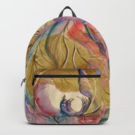 Flower Fairy Leaf Backpack