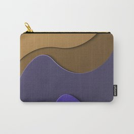 Waves&Shapes 1 Carry-All Pouch