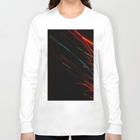 the lights Long Sleeve T-shirts featuring lights by k. Reinstein