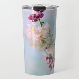 Cherry Blossoms pink Pastels Travel Mug