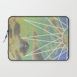 Solarized Burst Laptop Sleeve