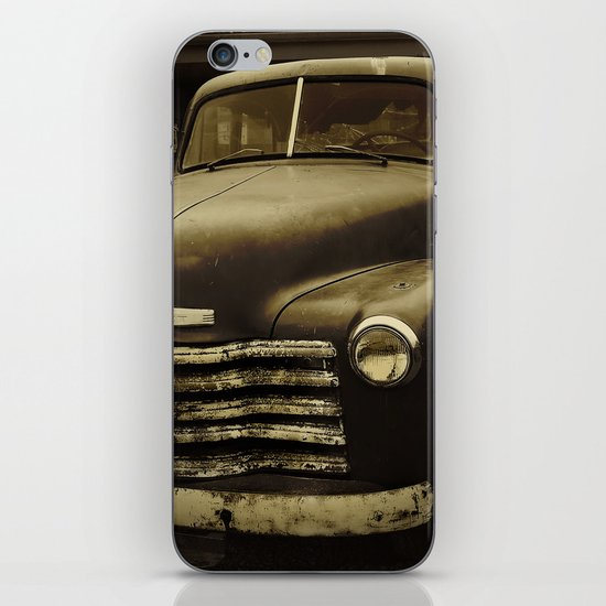 Souls Like the Wheels iPhone & iPod Skin