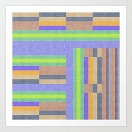ColorStrip Art Print