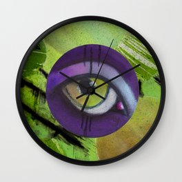 eye only II Wall Clock