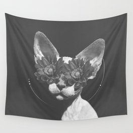 Egyptian Cat Wall Tapestry