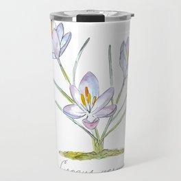 Spring Crocus Travel Mug
