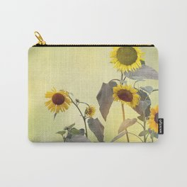 Image of Sunflowers blooming Carry-All Pouch