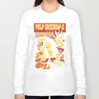 pulp Long Sleeve T-shirts featuring Pulp Greendale by Shana-Lee
