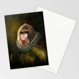 Portrait of Marquis de Mandrille Stationery Cards