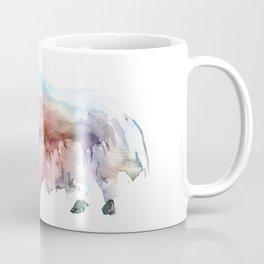 Wild yak 2 / Abstract animal portrait. Coffee Mug