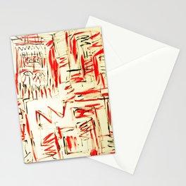 l'esprit de feu by Johnny Otto Stationery Cards