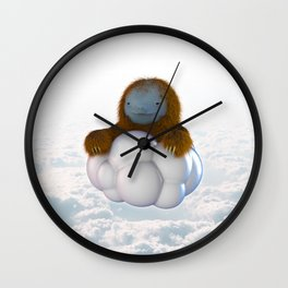ALL MIGHTY SLOTH Wall Clock