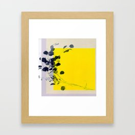 grayellow_mood Framed Art Print