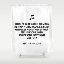Best Of My Love Shower Curtain