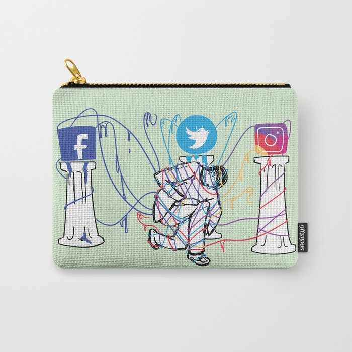 Idle Idols Carry-All Pouch