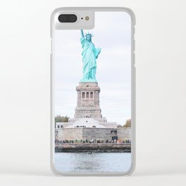 263. Mademoiselle Liberty, New York Clear iPhone Case