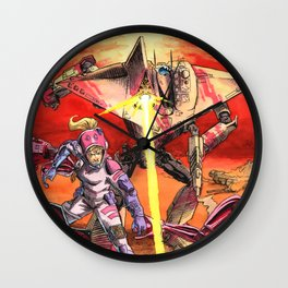 The Sniper Wall Clock