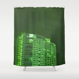 Green latern Shower Curtain