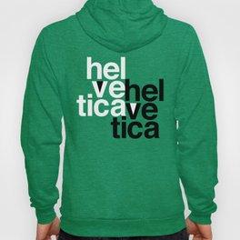 Helvetica Specimen Hoody