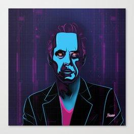 """""""Jordan Peterson"""" Portrait Canvas Print"""