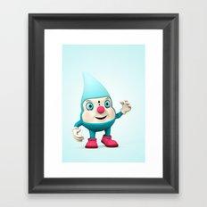 RainDrop Framed Art Print