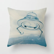 UFO III Throw Pillow