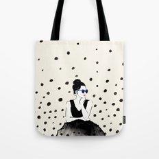 Polka Rain III Tote Bag