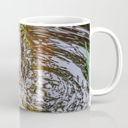 Gator Blowing Bubbles Coffee Mug