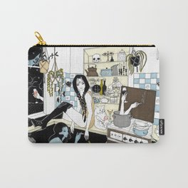 Autumn time sadness Carry-All Pouch