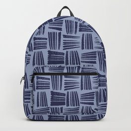 Blue Hatches Backpack