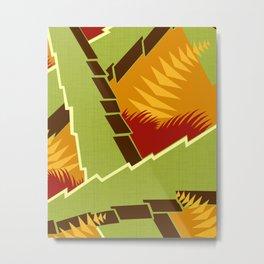 AGONDA Art Deco Modern: EARLY AUTUMN Metal Print