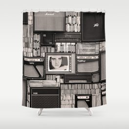 KING OF ROCK II Shower Curtain