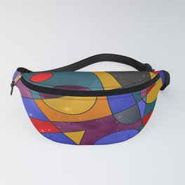 Abstract #152 Fanny Pack