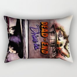 Dead End Drive-In Rectangular Pillow