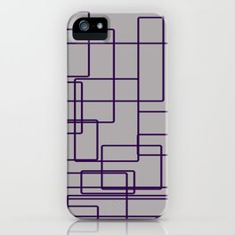 rectángulos superposiciones iPhone Case