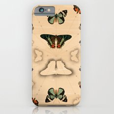 Butterfly Coordinates iPhone 6s Slim Case